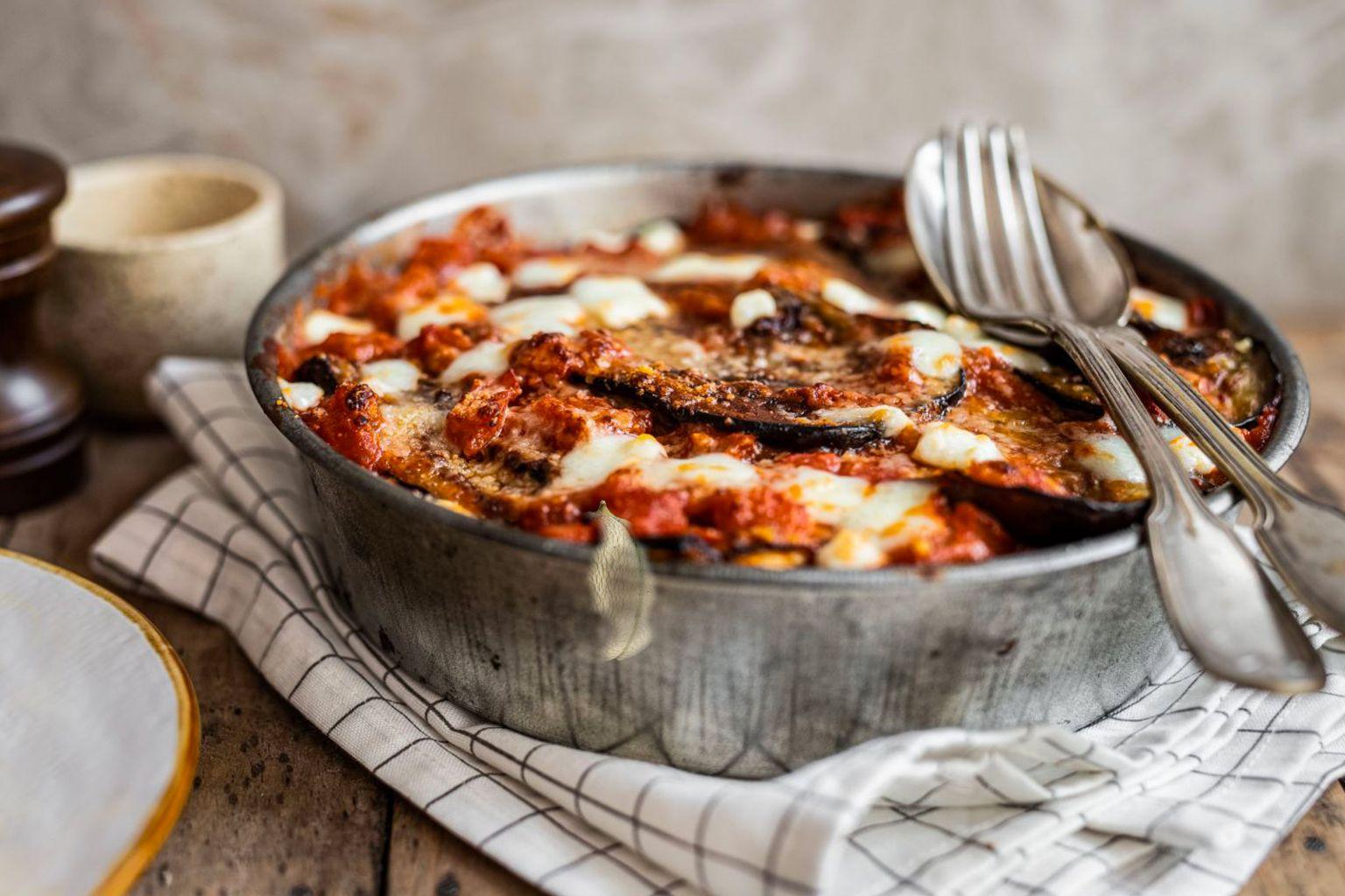 Parmigiana d'aubergine