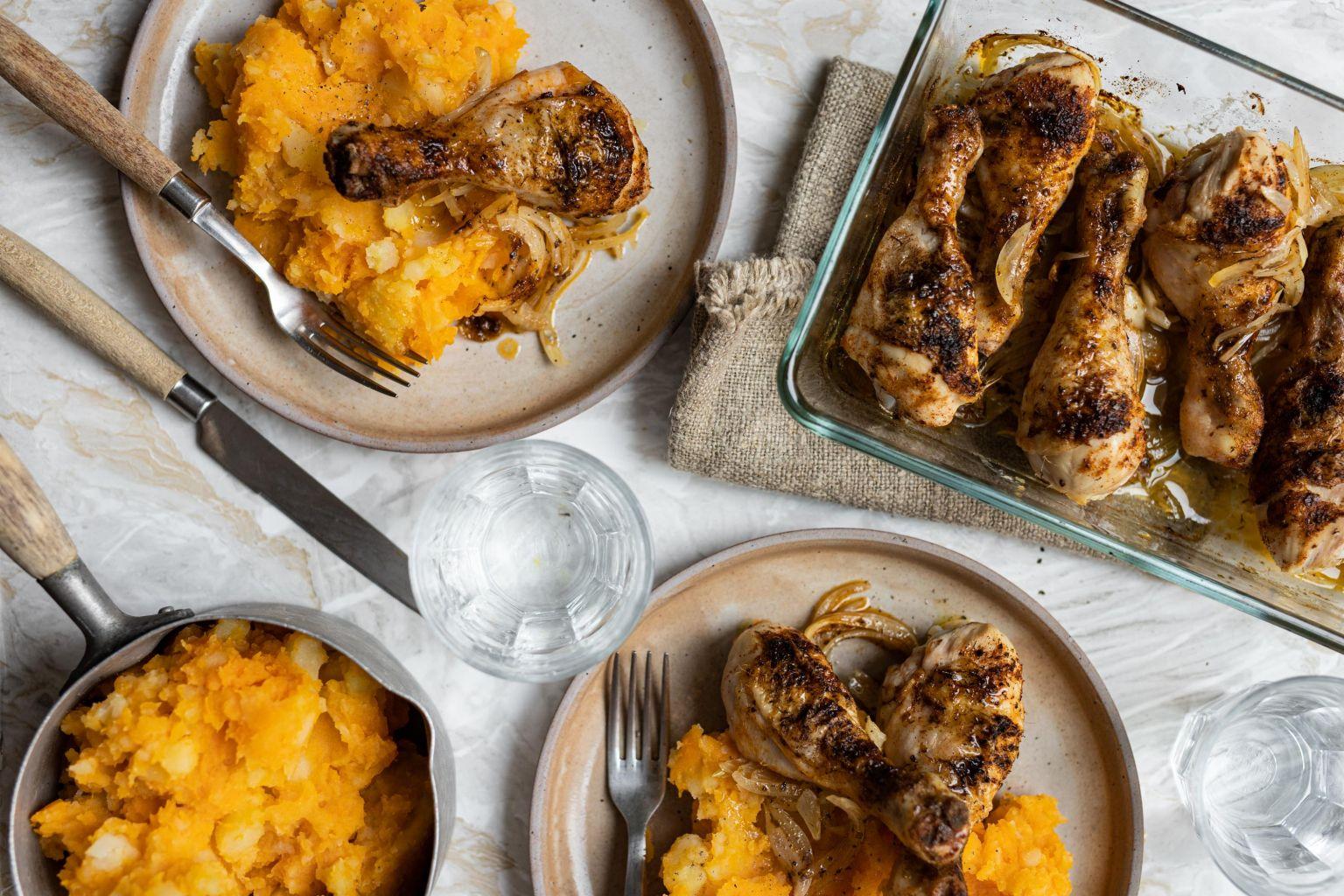 Pilons de poulet grillés aux épices Lubéron