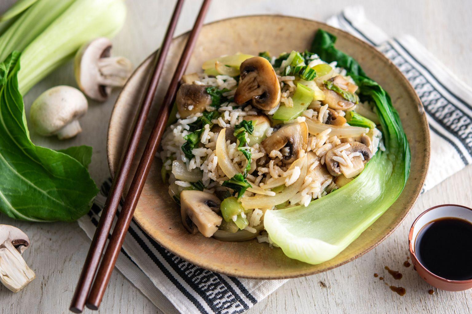 Riz sauté veggie à la sauce soja