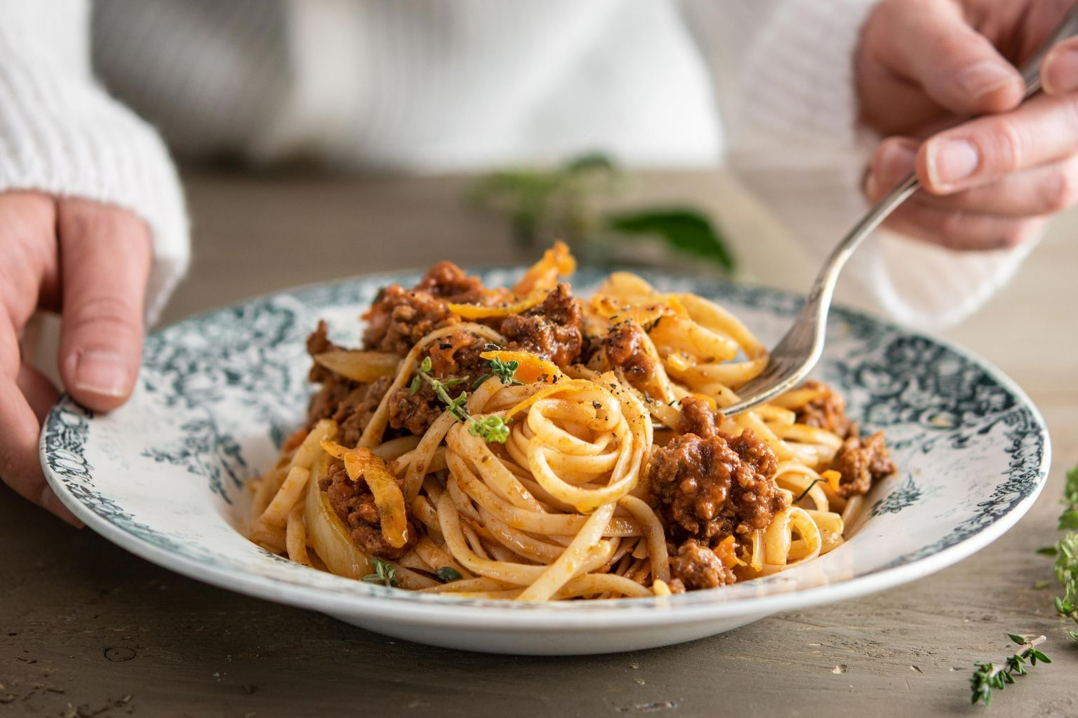 Spaghetti façon bolognaise