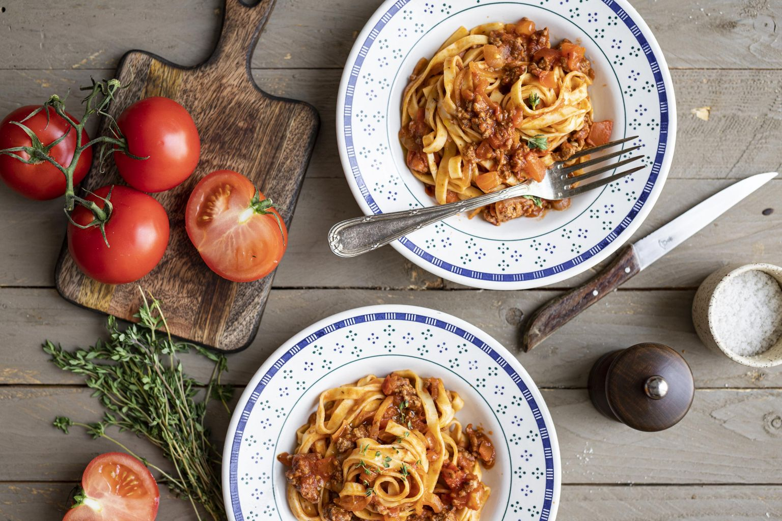 Tagliatelle fraîches façon bolognaise