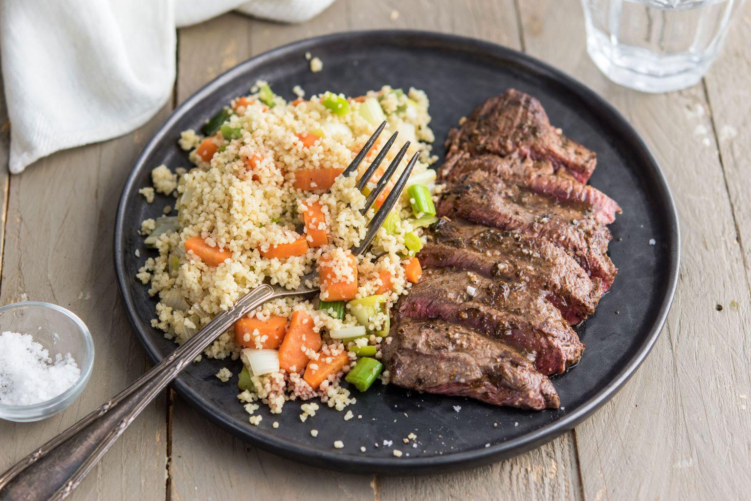 Steaks de bœuf à la marocaine