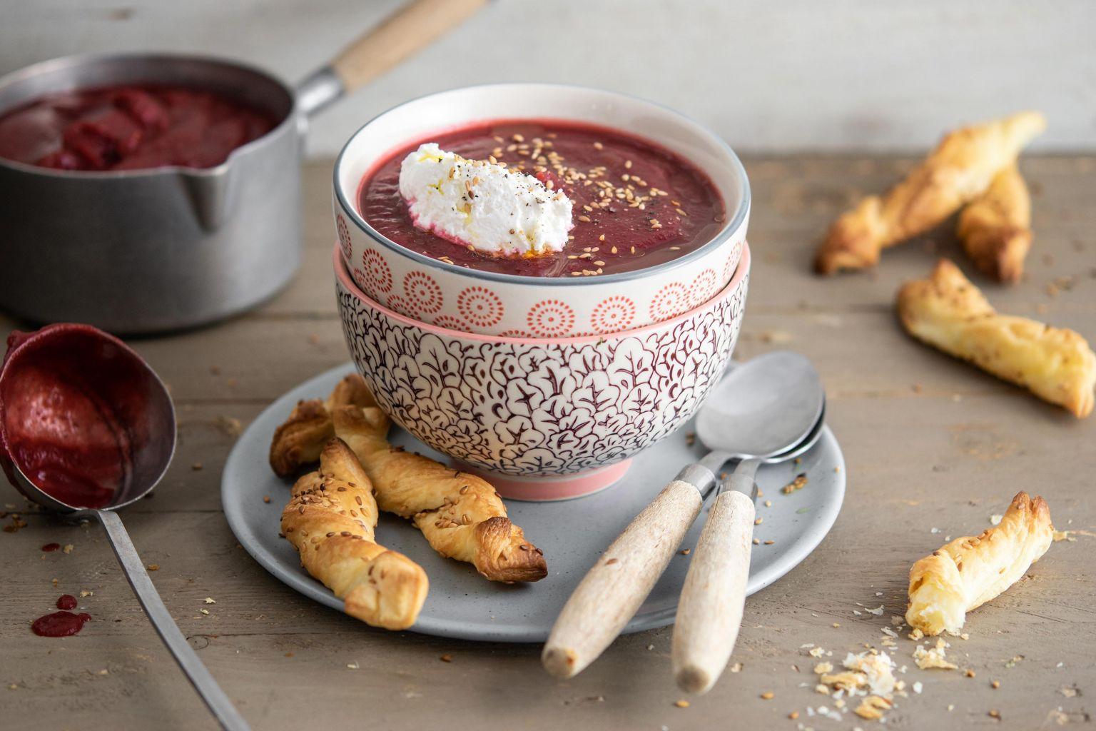 Recette de soupe à la betterave