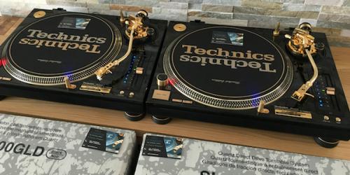 Редкий набор золотых проигрывателей SL-1200 выставлен на продажу