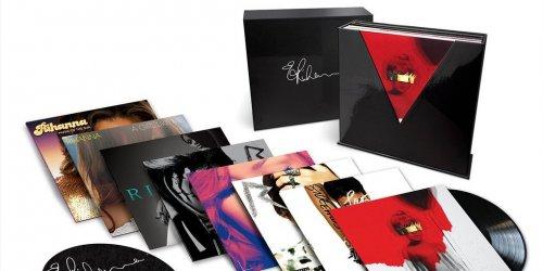 Риана готовит выпуск винилового набора из всех своих 8 студийных альбомов