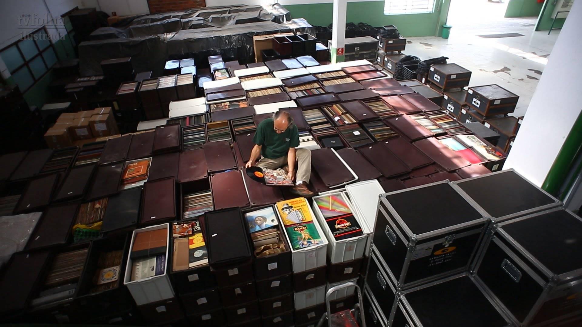 Самая большая коллекция пластинок в мире