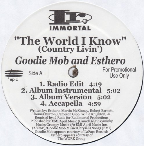 The World I Know (Country Livin') / Sellin' D.O.P.E.