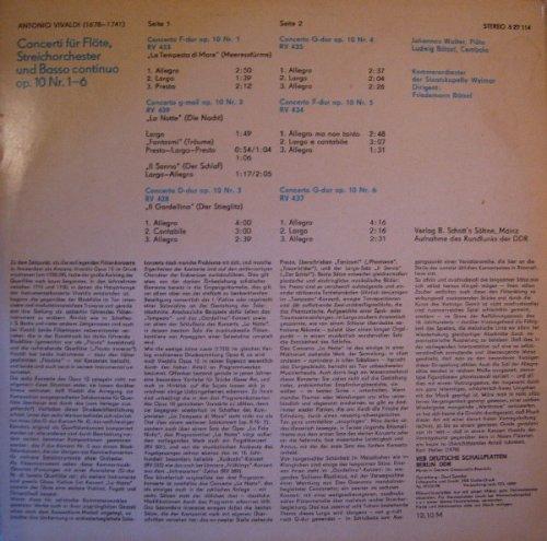 Flötenkonzerte Op. 10