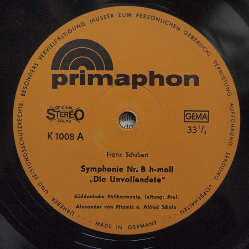 """Symphonie Nr.8 In H-Moll """"Die Unvollendete"""" - """"Streicherserenade"""""""