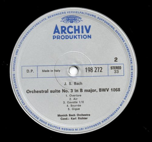 Ouvertüre Nr. 2 In H-moll, BWV 1067 / Ouvertüre Nr. 3 In D-dur, BWV 1068