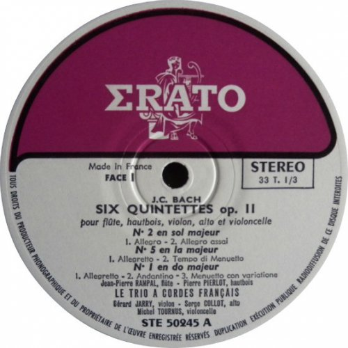 Six Quintettes