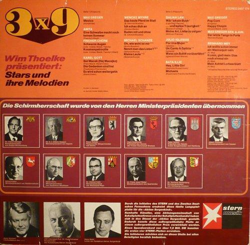 Wim Thoelke Präsentiert: 3x9 - Stars Und Ihre Melodien