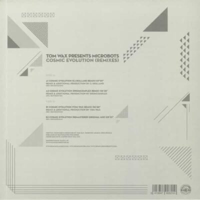 TOM WAX PRESENTS MICROBOTS | COSMIC EVOLUTION (REMIXES) | 	BV2020017