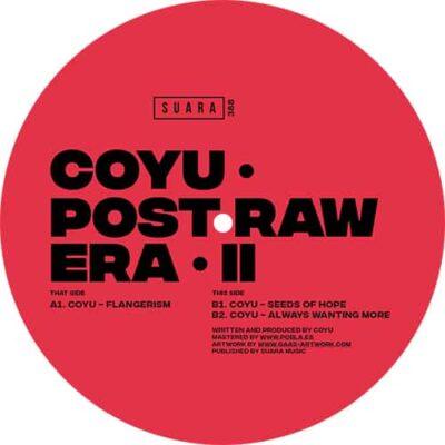 Coyu | Post Raw Era II | Suara388