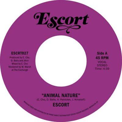 Escort | Animal Nature b/w Barbarians (Tiger & Woods Remix) | escrt027