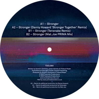 Dombresky | Stronger (Remixes) | Toolroom Records | TOOL880