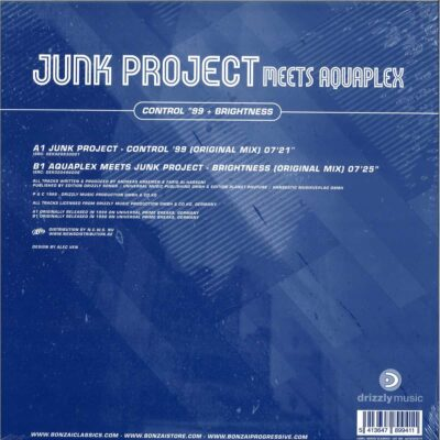 JUNK PROJECT MEETS AQUAPLEX | CONTROL 99 / BRIGHTNESS | BCV2020014
