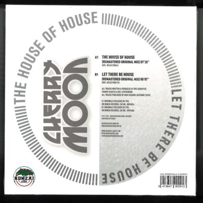Cherry Moon Trax ‎| The House Of House / Let There Be House | BCV2020016