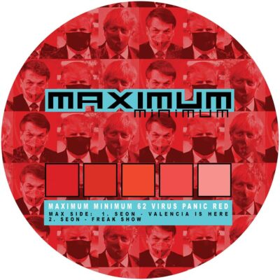 Various ‎| Virus Panic Red | MAXMIN062