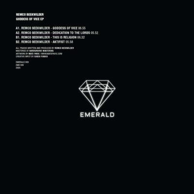 Remco Beekwilder | Goddess Of Vice EP | EMERALD 009