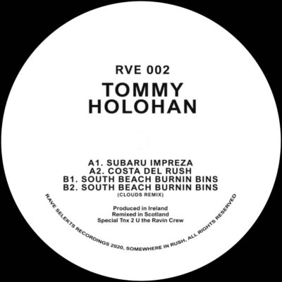 Tommy Holohan | RVE002 | RVE002