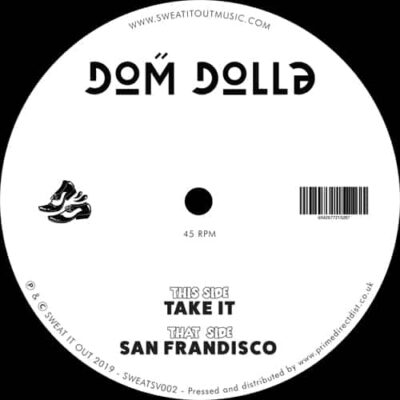 Dom Dolla ‎| Take It | SWEATSV002