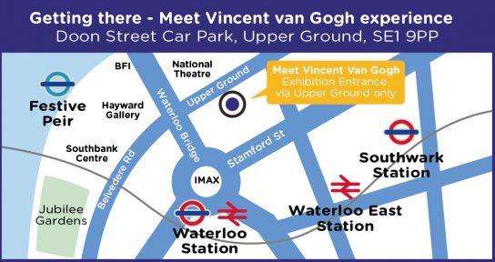 Van Gogh location map 2
