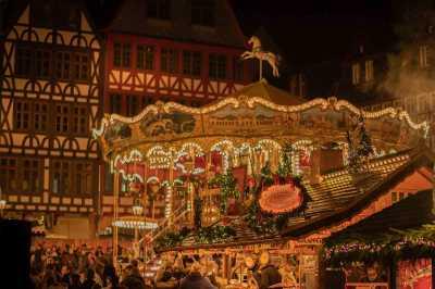 Weihnachtsmarkt in Hamburg Blankenese