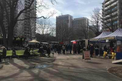 Wochenmarkt Markt am Spittelmarkt