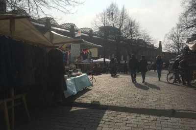 Wochenmarkt am Hackeschen Markt