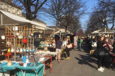Kunst- und Trödelmarkt Straße des 17. Juni