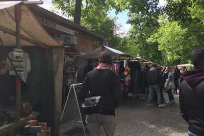 Trödelmarkt Boxhagener Platz