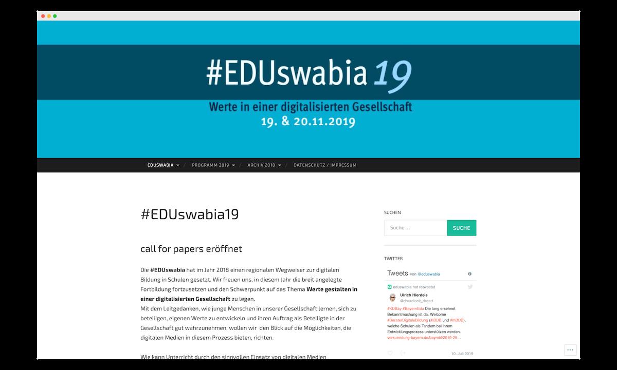 EDUswabia19