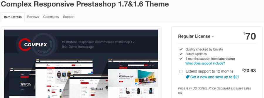 Complex Responsive Prestashop 1.7&1.6 Theme