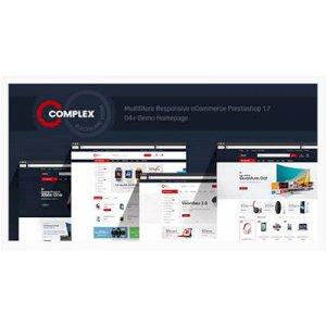 Complex Mobil Uyumlu Prestashop 1.7&1.6 E-Ticaret Teması