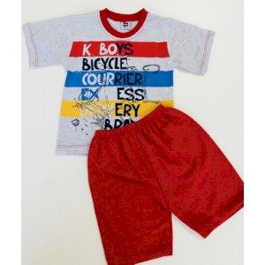 Yazlık İkili Erkek Bebek Tişörtü