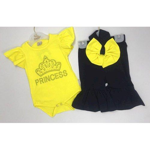 İspanyol Paça Kız Bebek Takımı