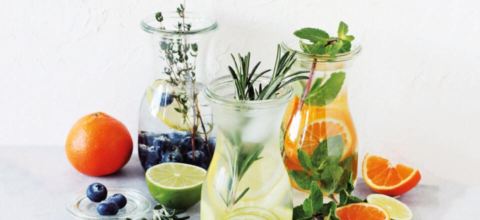 mad til udrensning af kroppen