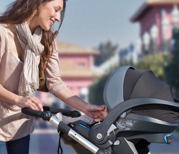 Mima IZI Go защищает все путешествия малыша