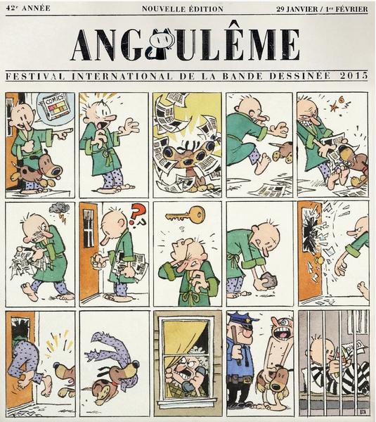 Affiche angouleme watterson 2015