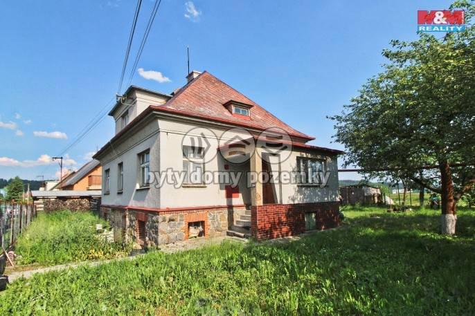 Prodej, Rodinný dům, 1780 m², Planá, Jateční