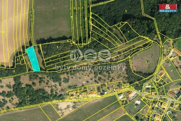Prodej, Zahrada, 1191 m², Choryně