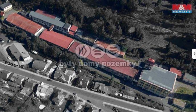 Pronájem, Výrobní objekt, 16017 m², Kraslice, Wolkerova