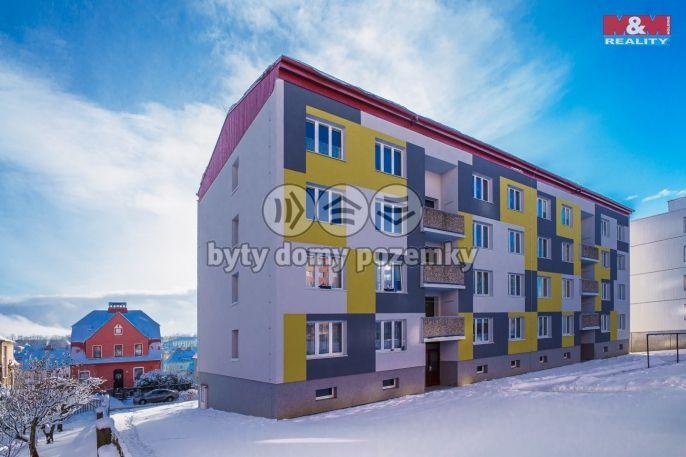 Prodej, Byt 1+1, 41 m², Aš, Petra Bezruče