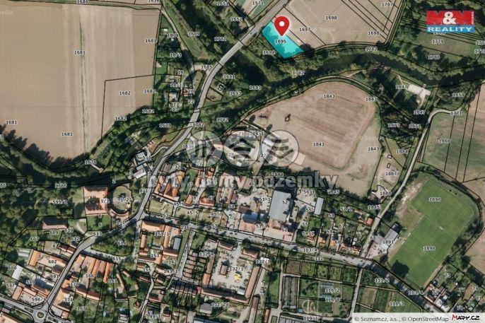 Prodej pole, 2210 m², Plzeň