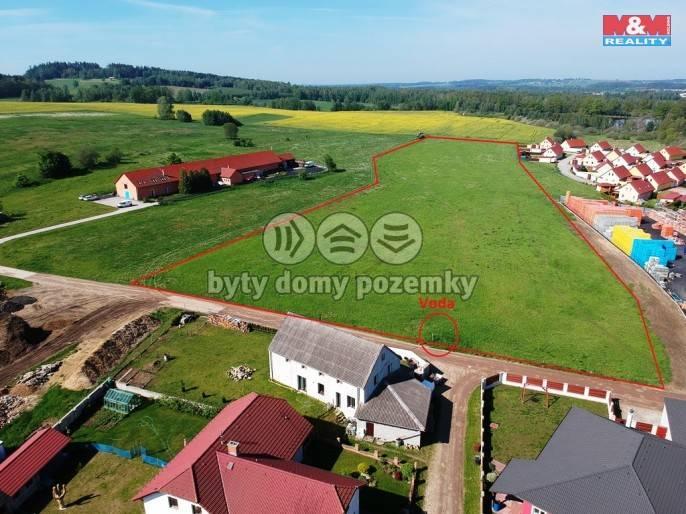 Prodej, Stavební parcela, 25410 m², Jindřichův Hradec