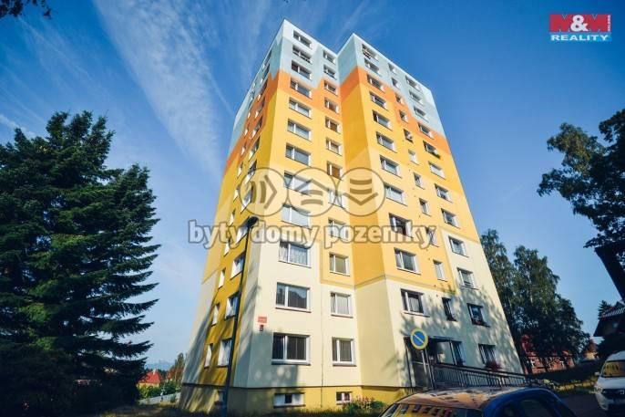 Pronájem, Byt 1+1, 42 m², Jablonec nad Nisou, 28. října