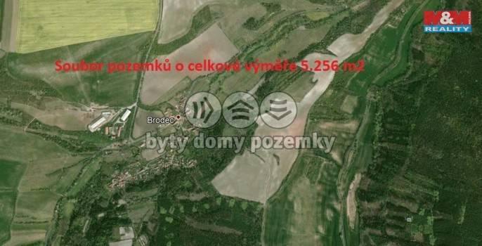 Prodej, Louka, 5256 m², Brodec