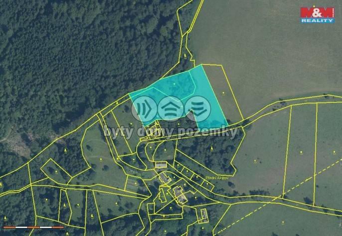 Prodej, Louka, 10044 m², Branná