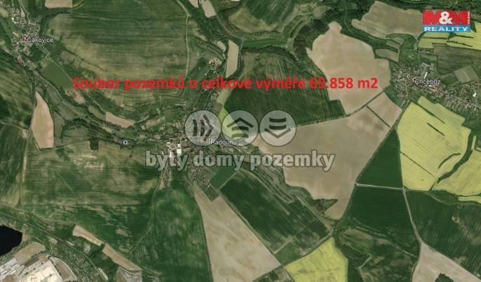 Prodej, Pole, 69858 m², Štětí